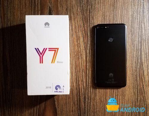 Huawei Y7 Prime 2018 64gb Dual sim 4G LTE هووای وای ۷ پرایم ۲۰۱۸ ۶۴گیگ