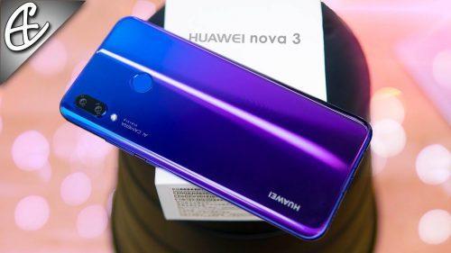 Huawei Nova 3 128gb Dual sim 4G LTE Mobile phone