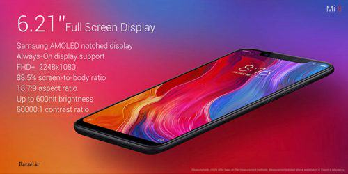 Xiaomi Mi 8 64GB Dual sim 4G LTE