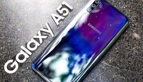SAMSUNG GALAXY A51 2020 A515F 128GB DUAL SIM سامسونگ گالکسی آ۵۱ ۱۲۸گیگ دوسیم کارت