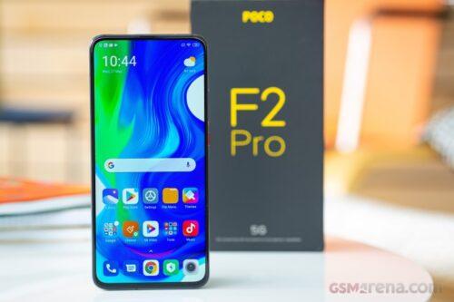 Xiaomi Pocofon F2 PRO 128GB RAM6 Dual sim(5G) شیاومی پوکوفون اف۲ پرو ۱۲۸گیگابایت ۵جی