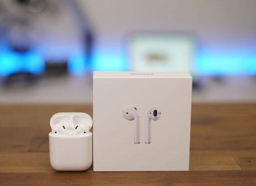 هدفون بی سیم اپل مدل AirPods 2 همراه با محفظه شارژ Apple AirPods 2 Wireless CASE