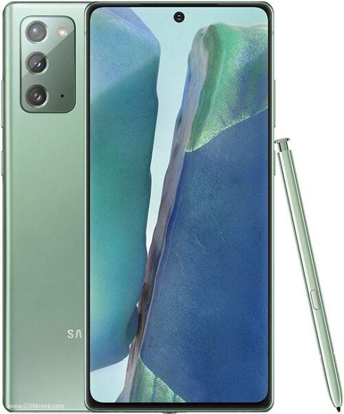 Samsung Galaxy NOTE20 256GB 4G سامسونگ گالکسی نوت۲۰ ۲۵۶گیگ