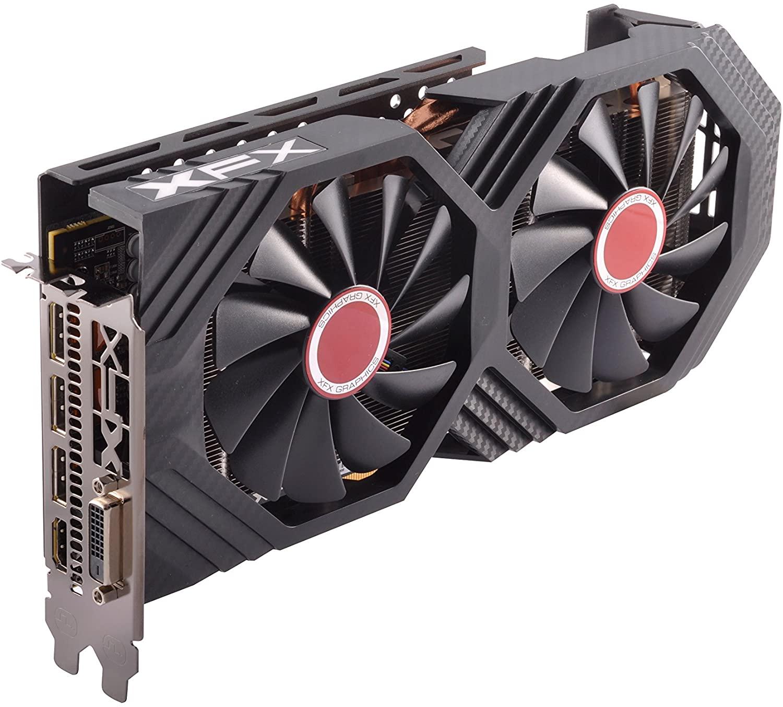 VGA GTS XFX AMD Radeon RX580 8GB GDDR5 کارت گرافیک ایکس اف ایکس آر ایکس۵۸۰ ۸گیگابایت
