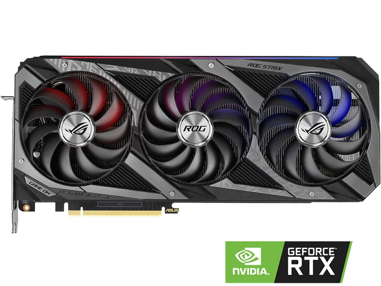 VGA ASUS ROG Strix GeForce RTX 3060 12GB GDDR6 کارت گرافیک ایسوس
