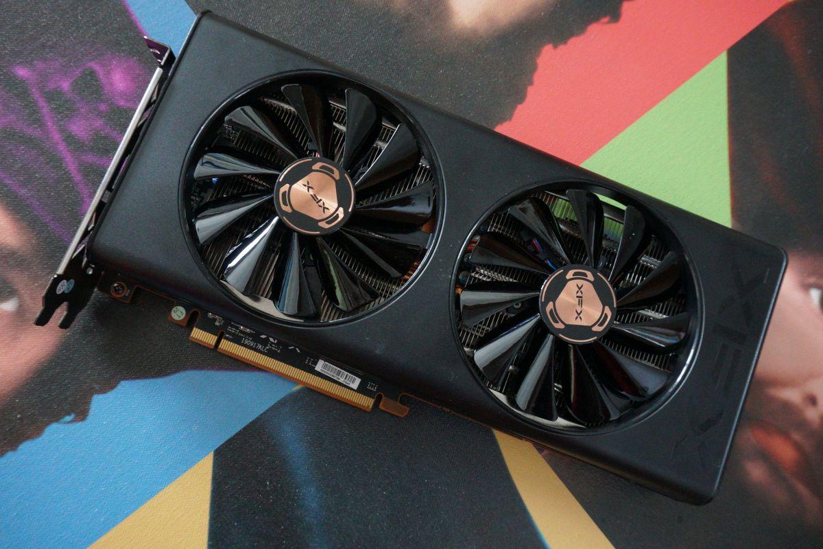 VGA XFX AMD Radeon RX5600XT 6GB GDDR6 کارت گرافیک آر ایکس ۵۶۰۰ ۶گیگابایت