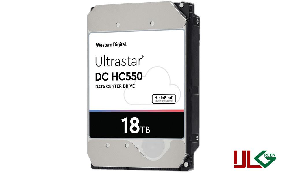 هارد دیسک اینترنال وسترن دیجیتال سریUltraStar BLACK ظرفیت ۱۸ترابایت