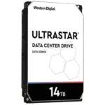 هارد دیسک اینترنال وسترن دیجیتال سریUltraStar BLACK ظرفیت ۱۴ترابایت