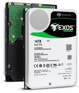 هارد دیسک اینترنال سیگیت ایکسوس ظرفیت ۱۴ترابایت