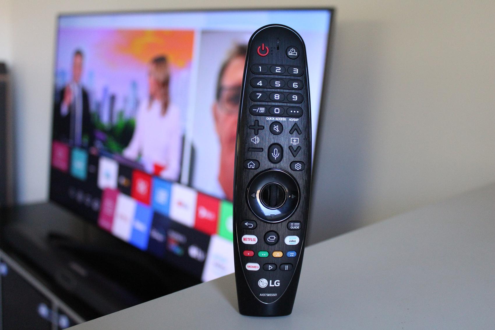 LG TV NANO79 55′ inch 4K تلویزیون ال جی نانو ۷۹ ۵۵اینچ