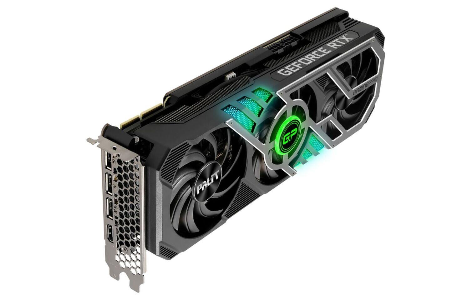 VGA Palit GeForce RTX3070 8GB GDDR6 کارت گرافیک پالیت جی فورس ایکس آر تی ایکس ۳۰۷۰