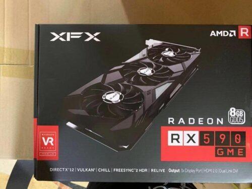 VGA XFX AMD Radeon RX590 GME 8GB GDDR5 کارت گرافیک ایکس اف ایکس آر ایکس ۵۹۰ ۸گیگابایت