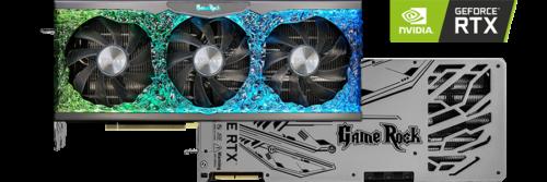 VGA GeForce Palit RTX 3090 GAMING ROCK 24GB GDDR6X کارت گرافیک پالیت ۳۰۹۰