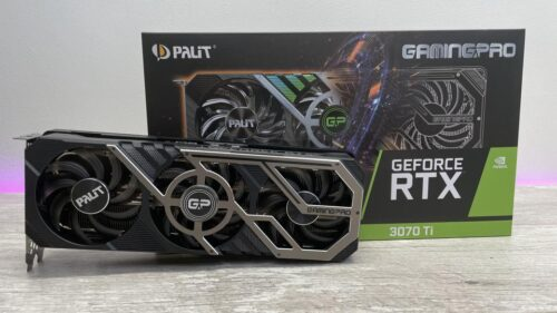 VGA Palit Gaming PRO GeForce RTX 3070Ti 8GB GDDR6 کارت گرافیک پالیت گیمینگ پرو ۳۰۷۰ تی ای